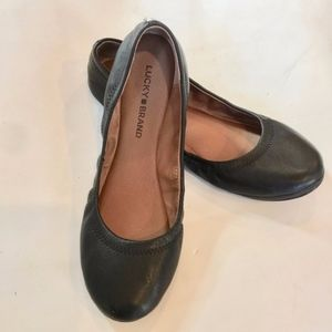 Lucky Brand Emmie Flats 7.5 Excellent Condition